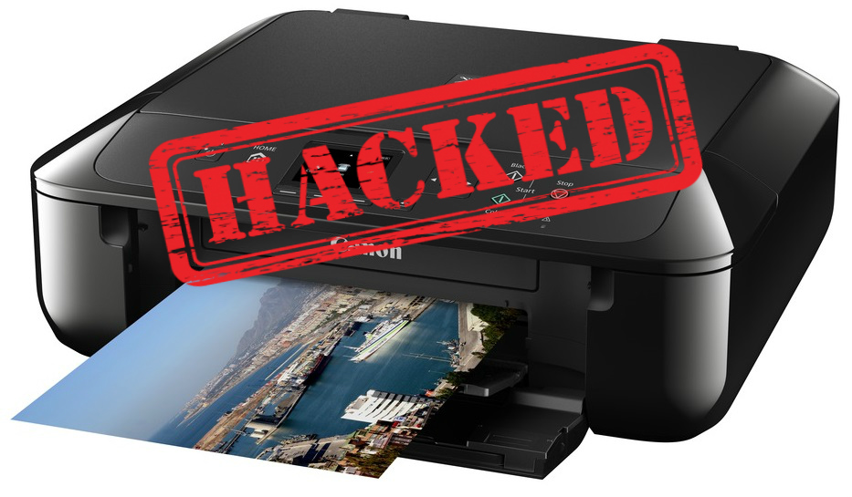 hacked printer