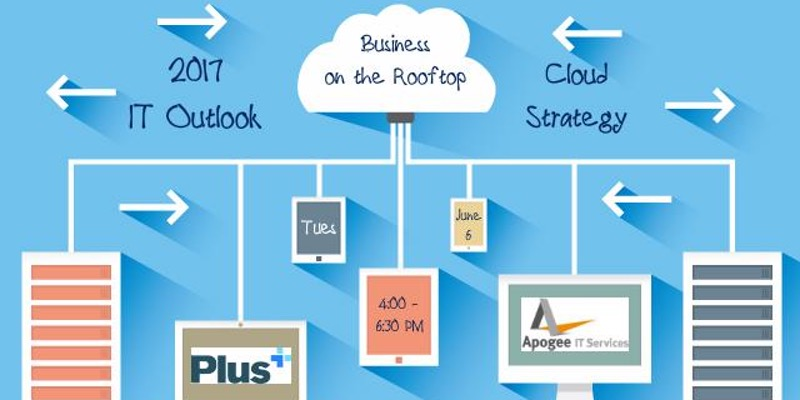 Illustration of cloud technology infrastructure
