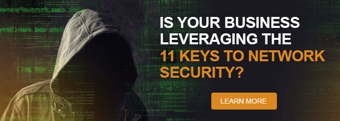 11 keys to network security