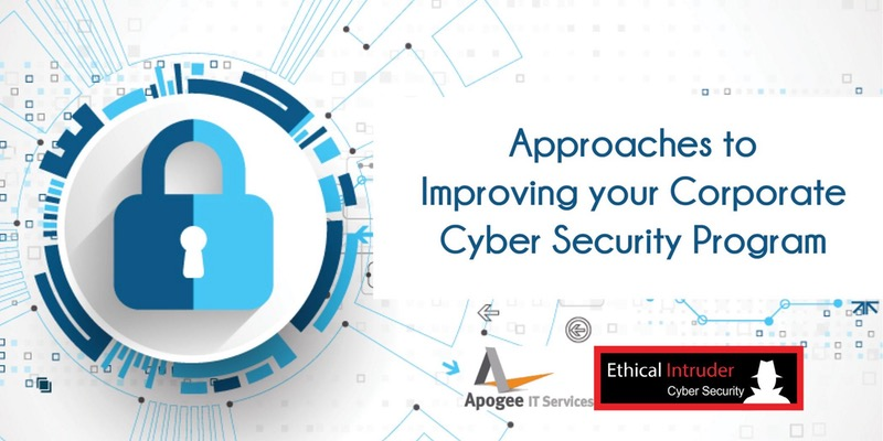 Improving your Corporate Cyber Security: Free Breakfast Presentation in Cranberry